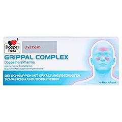 GRIPPAL COMPLEX DoppelherzPharma 200mg/30mg 10 Stück - Vorderseite