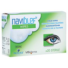 NAVIBLEF wipes Augenlidtücher 20 Stück