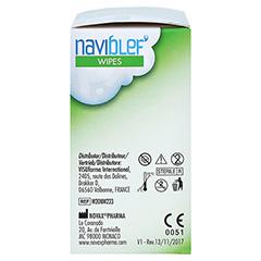 NAVIBLEF wipes Augenlidtücher 20 Stück - Linke Seite