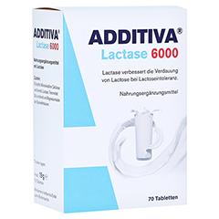 ADDITIVA Lactase 6000 Tabletten 70 Stück