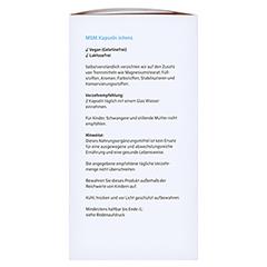 SANHELIOS MSM Kapseln intens 1600 mg 400 Stück - Rechte Seite