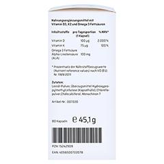 SANHELIOS Vitamin D3 Sonnenvitamin-Komplex mit K2 80 Stück - Linke Seite