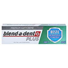 Blend-a-dent Plus Haftcreme Beste antibakterielle Technologie 40 Gramm - Vorderseite