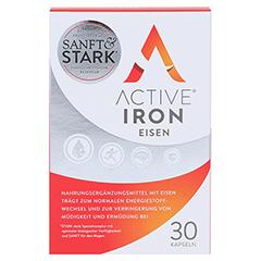 ACTIVE IRON Eisen Kapseln 30 Stück - Vorderseite