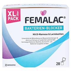 FEMALAC Bakterien-Blocker Pulver 28 Stück - Vorderseite