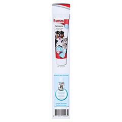BEAPHAR Zahnpflege-Set Zahnpasta & Bürste vet. 100 Gramm - Linke Seite