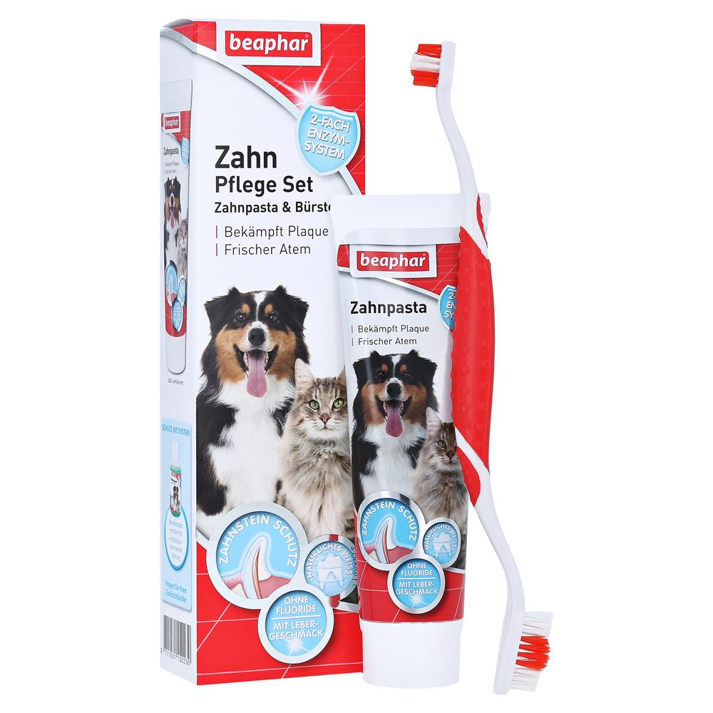 beaphar-zahnpflege-set-zahnpasta-burste-vet-100-gramm
