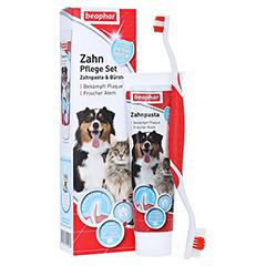 BEAPHAR Zahnpflege-Set Zahnpasta & Bürste vet. 100 Gramm