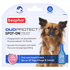 BEAPHAR DuoProtect Tropfen f.Hunde unter 15 kg 4.5 Milliliter - Vorderseite