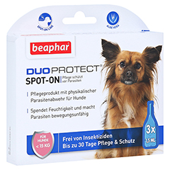 BEAPHAR DuoProtect Tropfen f.Hunde unter 15 kg 4.5 Milliliter