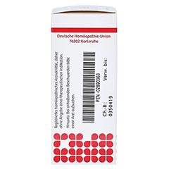 BORAX D 6 Globuli 10 Gramm N1 - Linke Seite