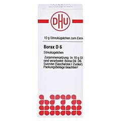 BORAX D 6 Globuli 10 Gramm N1 - Vorderseite
