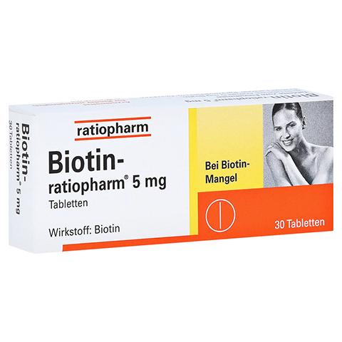 Biotin-ratiopharm 5mg 30 Stück