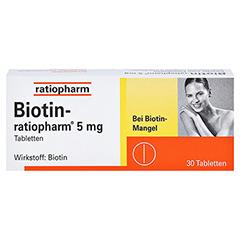 Biotin-ratiopharm 5mg 30 Stück - Vorderseite