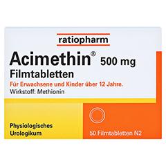 ACIMETHIN Filmtabletten 50 Stück N2 - Vorderseite