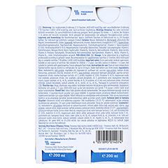 FRESUBIN ORIGINAL DRINK Pfirsich Trinkflasche 4x200 Milliliter - Rückseite