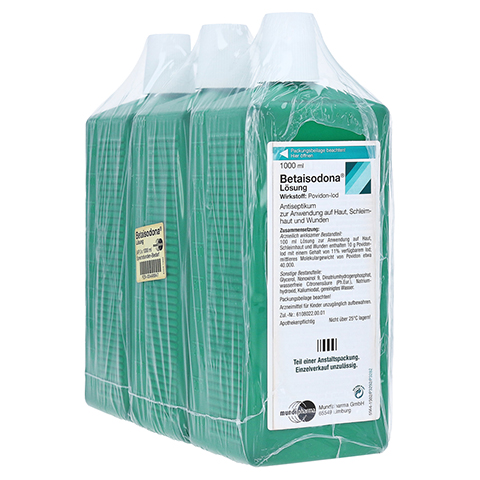 Betaisodona 3x1000 Milliliter