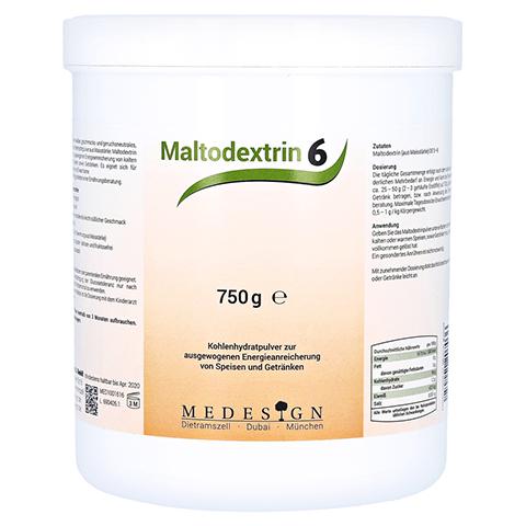 MALTODEXTRIN 6 Pulver 750 Gramm
