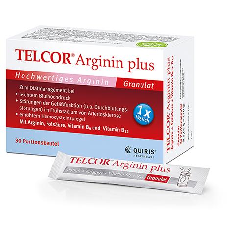 Telcor Arginin plus 30 Stück