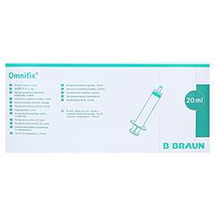 OMNIFIX Solo Spr.20 ml Luer latexfrei 100x20 Milliliter - Vorderseite