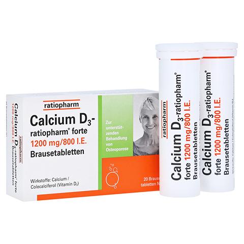 Calcium D3-ratiopharm forte 20 Stück N1