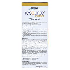 RESOURCE Instant 7-Korn Brei Pulver 2x300 Gramm - Linke Seite