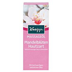 KNEIPP pflegendes Massageöl Mandelblüten hautzart 100 Milliliter - Vorderseite