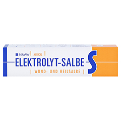 Elektrolyt-salbe S 100 Gramm - Vorderseite
