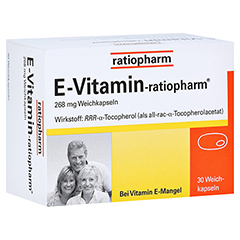 E VITAMIN-ratiopharm Kapseln 30 Stück N1
