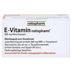 E VITAMIN-ratiopharm Kapseln 30 Stück N1 - Oberseite