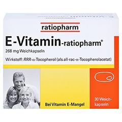 E VITAMIN-ratiopharm Kapseln 30 Stück N1 - Vorderseite