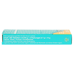 Lactostop 3.300 FCC Tabletten Klickspender Doppelpack 2x100 Stück - Rechte Seite