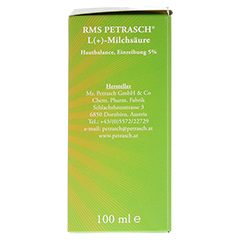 RMS Petrasch Hautbalance Einreibung 5% 100 Milliliter - Rechte Seite