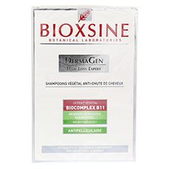 BIOXSINE pflanzliches Shampoo gegen Haarausfall (Anti-Schuppen) 300 Milliliter - Rückseite
