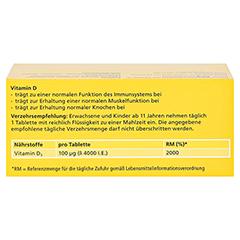 DEKRISTOLVIT D3 4.000 I.E. Tabletten 90 Stück - Rückseite