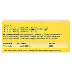 DEKRISTOLVIT D3 4.000 I.E. Tabletten 60 Stück - Rückseite