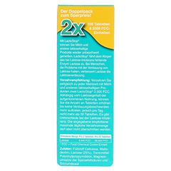 LACTOSTOP 3.300 FCC Tabletten Klickspender Dop.Pa. 2x100 Stück - Rückseite