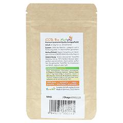 MATCHA BIO Premium Tee Probierpackung Pulver 20 Gramm - Rückseite