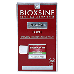 BIOXSINE FORTE Serum-Spray 60 Milliliter - Rückseite