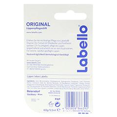 LABELLO Original Blister 4.8 Gramm - Rückseite