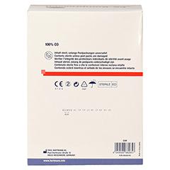 Es-kompressen Steril 10x10 cm Großpackung 20x5 Stück - Rückseite