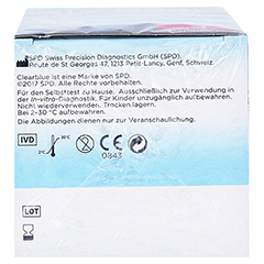 Clearblue ADVANCED Fertilitätsmonitor Teststäbchen 24 Stück - Unterseite