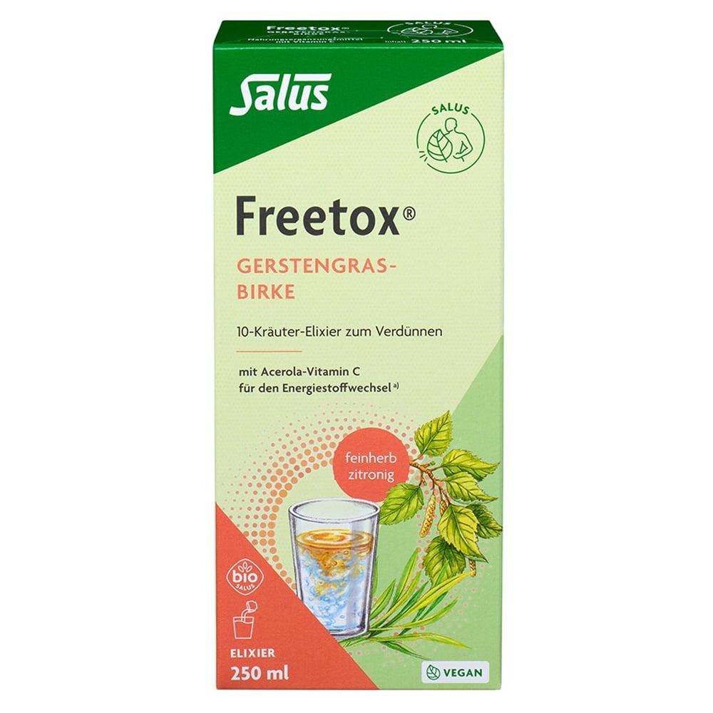 freetox-gerstengras-birke-10-krauter-elixier-bio-250-milliliter