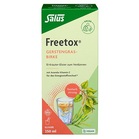 FREETOX Gerstengras-Birke 10-Kräuter-Elixier Bio 250 Milliliter