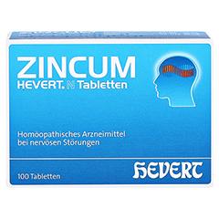 ZINCUM HEVERT N Tabletten 100 Stück N1 - Vorderseite