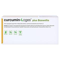 curcumin-Loges plus Boswellia 120 Stück - Unterseite