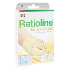 RATIOLINE Hallux valgus Bandage zur Korrektur Gr.S 1 Stück