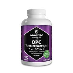 OPC TRAUBENKERNEXTRAKT hochdosiert+Vitamin C Kaps. 180 Stück
