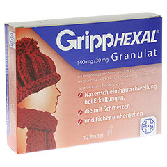 GrippHEXAL 500mg/30mg 10 Stück N1