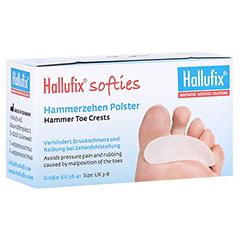 HALLUFIX softies Hammerzehenpolster Gr.M 36-41 2 Stück